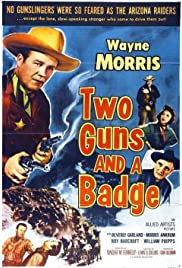 Two Guns and a Badge Poster