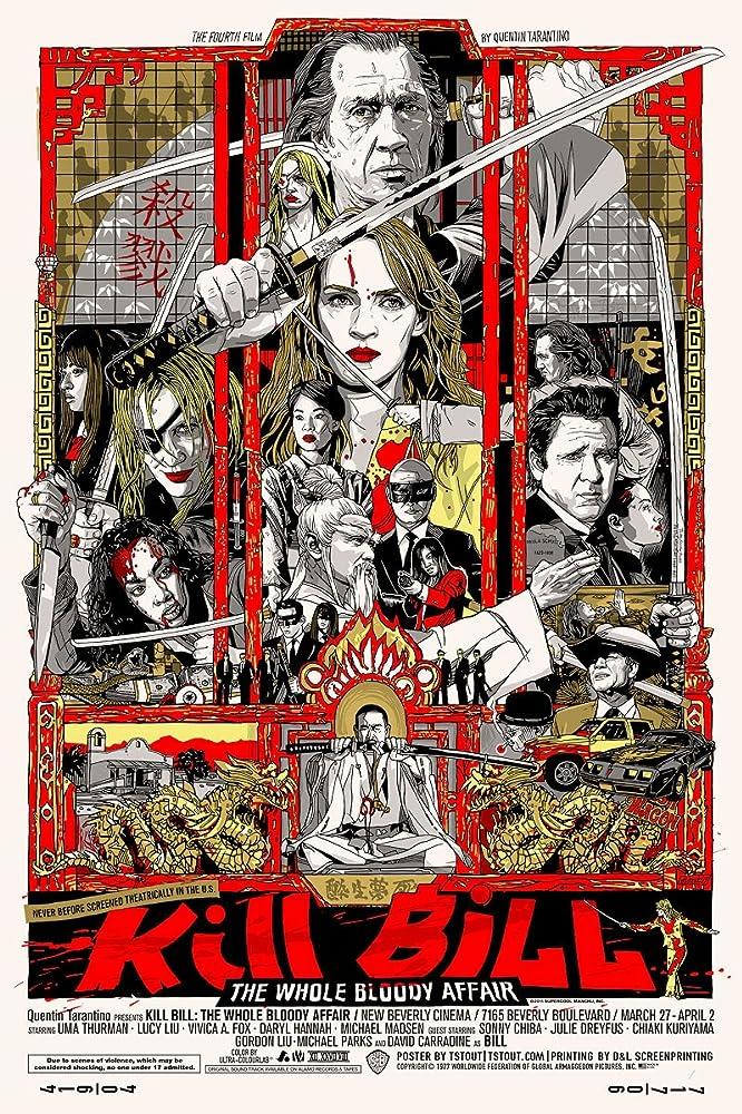 Kill Bill: The Whole Bloody Affair (2011) Hindi Dubbed BluRay 380MB