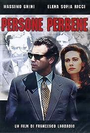 Persone perbene Poster