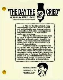 The Day the Clown Cried (1972)