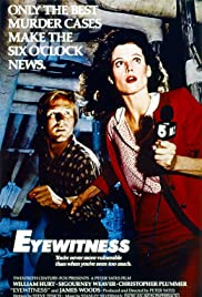 Eyewitness (1981) Poster - Movie Forum, Cast, Reviews