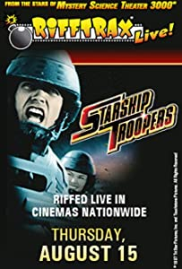 English movie for free watch RiffTrax Live: Starship Troopers by David Giancola [360x640]