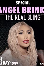 Angel Brinks: The Real Bling Poster