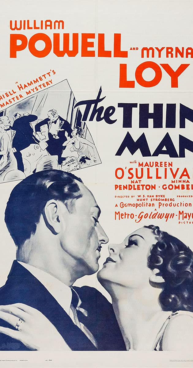 Subtitle of The Thin Man