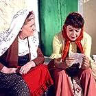 Pamfili Sadorinaiou and Rena Vlahopoulou in Protevousianikes peripeteies (1956)
