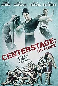 Peter Gallagher, Ethan Stiefel, Kenny Wormald, Nicole Muñoz, and Chloe Lukasiak in Center Stage: On Pointe (2016)