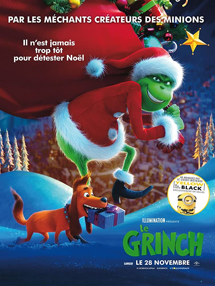 The Grinch (2018) Hindi Dual Audio ORG 480p BluRay ESubs 300MB