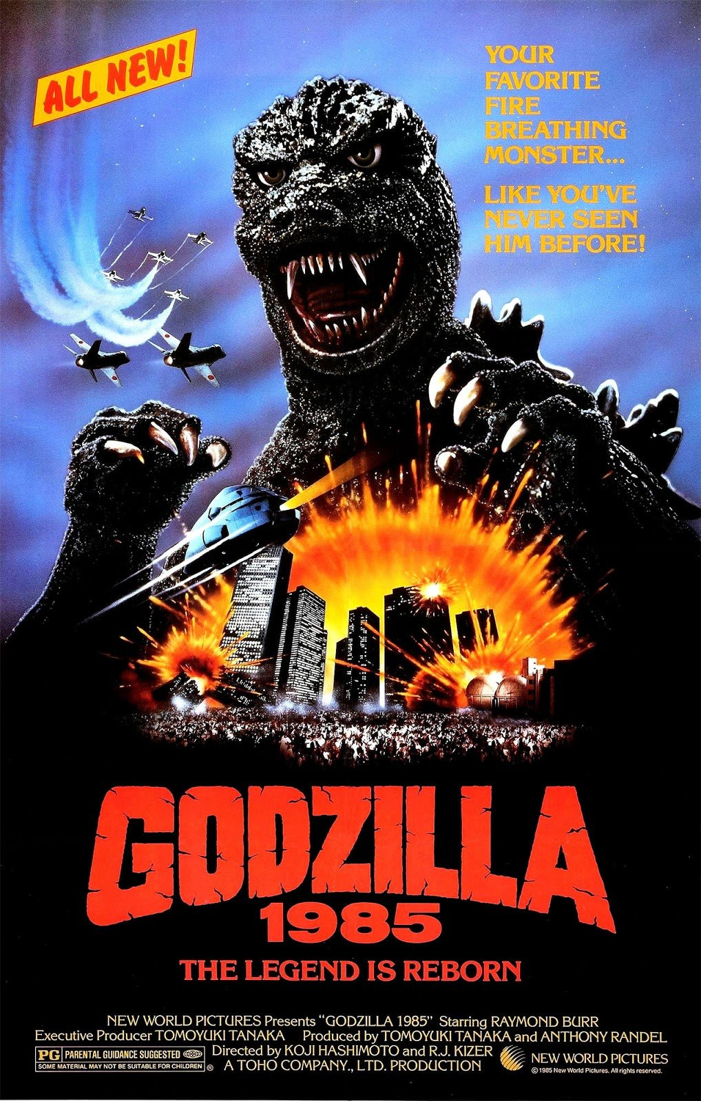 Image result for godzilla 1984