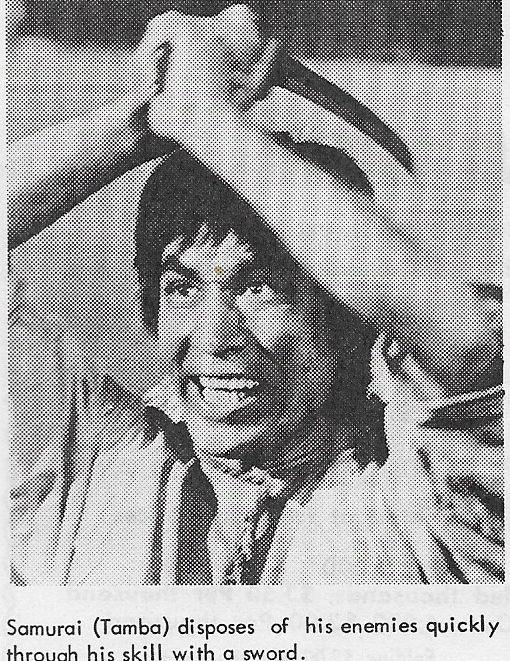 Tetsurô Tanba in Un esercito di 5 uomini (1969)