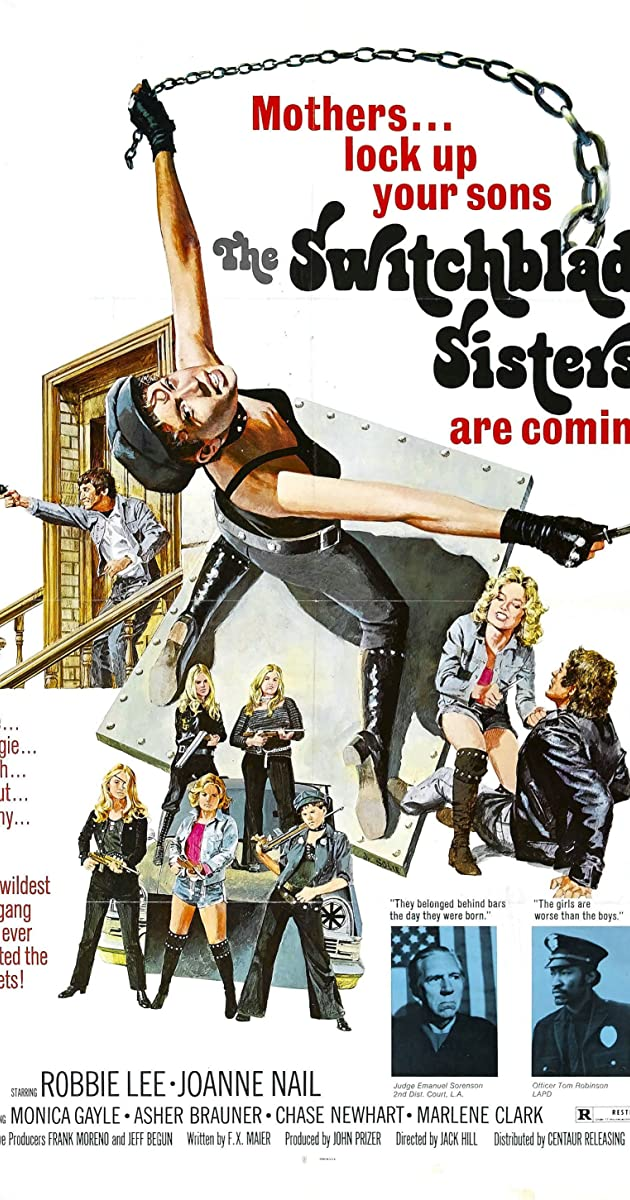 Subtitle of Switchblade Sisters