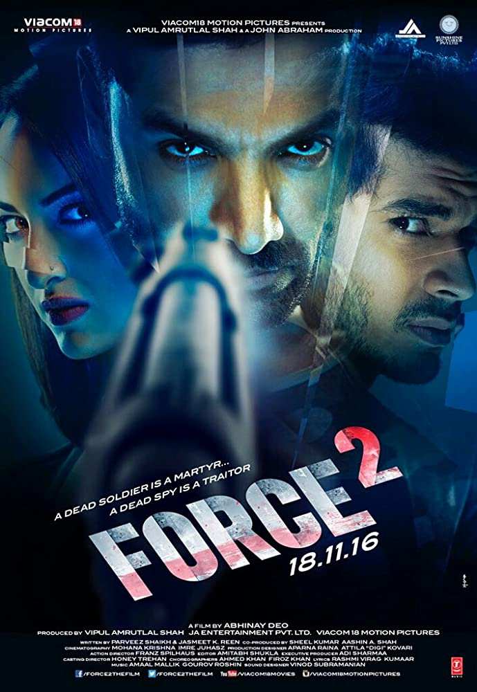 Force 2 2016 Hindi Movie 720p BluRay 1.1GB