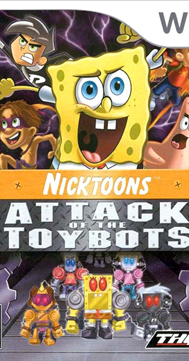 Nicktoons Attack Of The Toybots Video Game 2007 Full Cast