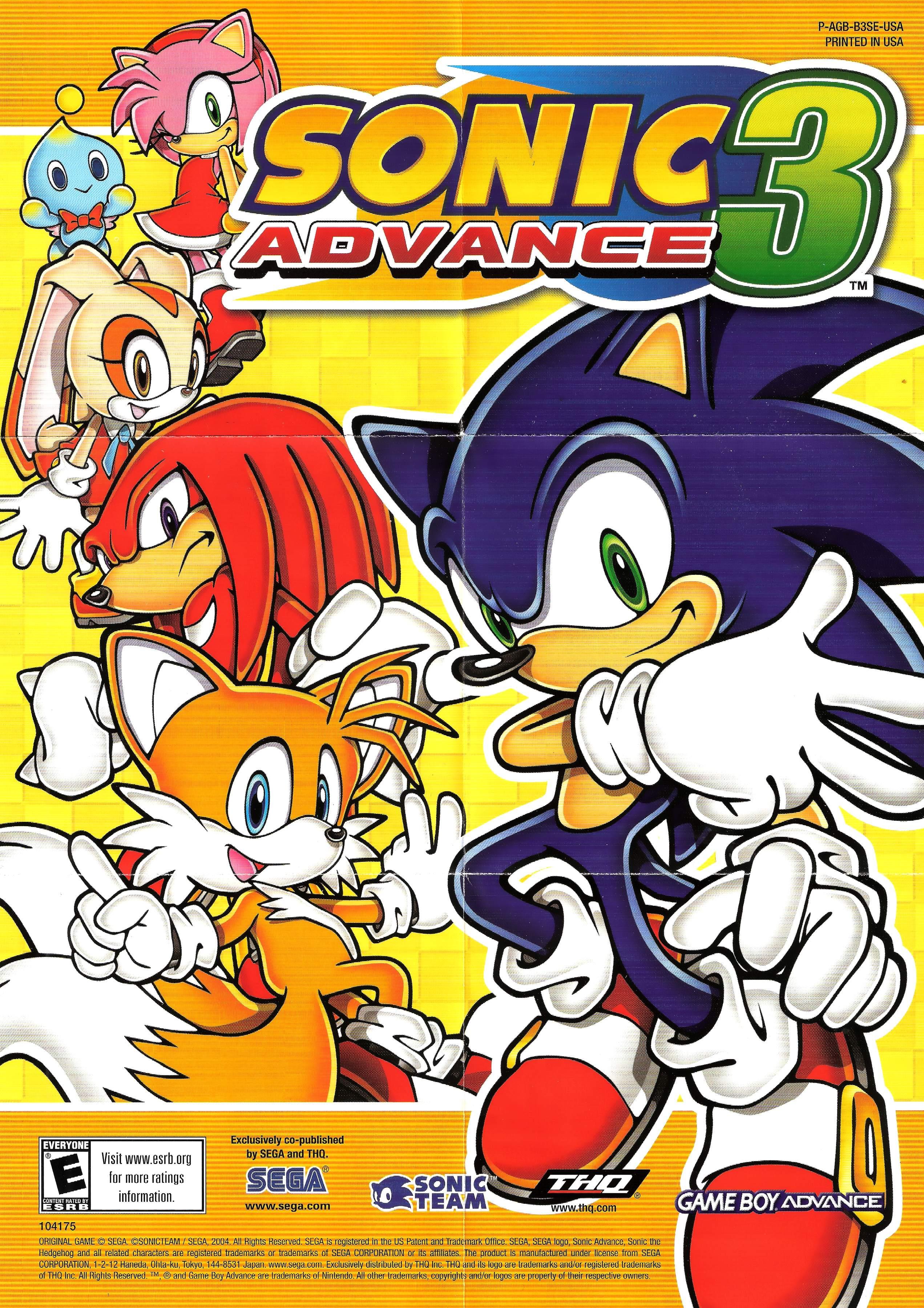 Sonic Advance 3 (Video Game 2004) - IMDb