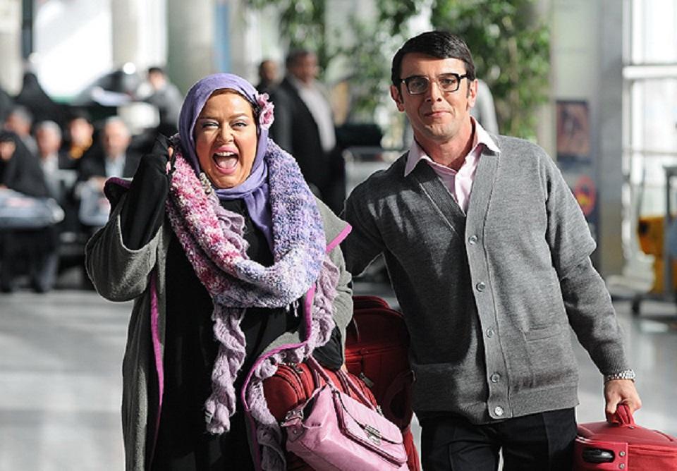 Bahareh Rahnama and Amin Hayayee in Zanane Venusi, Mardane Merikhi (2011)
