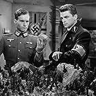 Henry Brandon and Helmut Dantine in Edge of Darkness (1943)