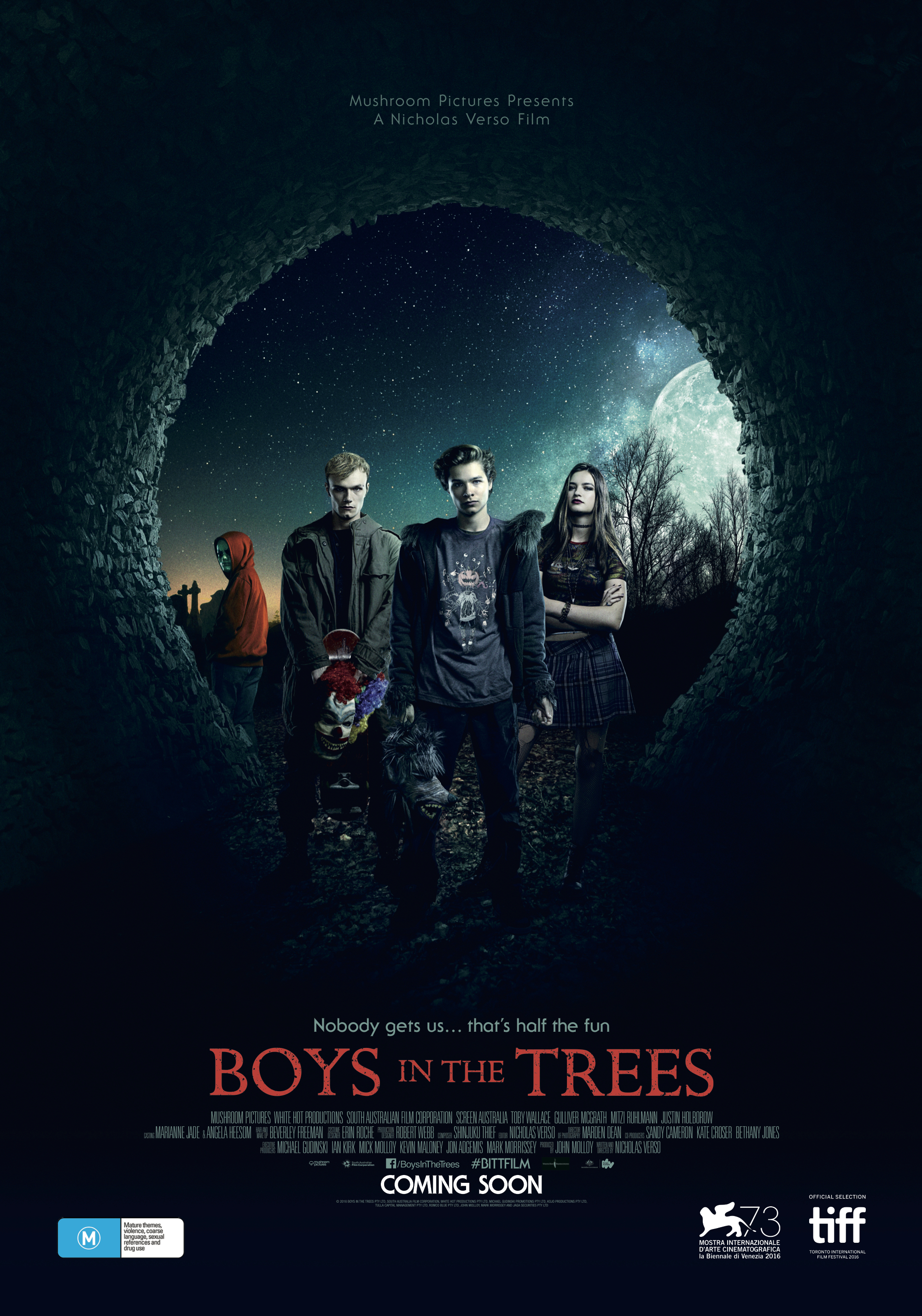 Boys in the Trees (2016) BluRay 720p & 1080p