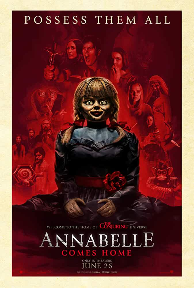 Annabelle Comes Home (2019) 720p HEVC HDCAM x265 AAC [Dual Audio] [Hindi (Cleaned) or English] [450MB]