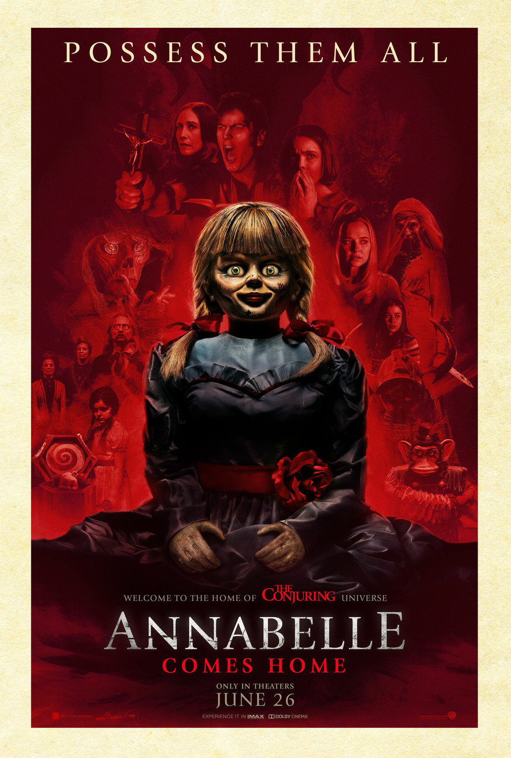 Annabelle Comes Home (2019) BluRay 480p, 720p & 1080p