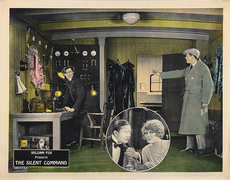 Bela Lugosi, Betty Jewel, and Edmund Lowe in The Silent Command (1923)