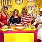 Kylie Minogue, Michaela Strachan, Kim Wilde, and Tommy Boyd in Wide Awake Club (1984)