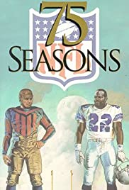 75 Seasons: The Story of the NFL Poster