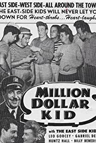 Noah Beery, William 'Billy' Benedict, Stanley Brown, Pat Costello, Louise Currie, Gabriel Dell, David Durand, Leo Gorcey, Buddy Gorman, Huntz Hall, Al Stone, and Jimmy Strand in Million Dollar Kid (1944)