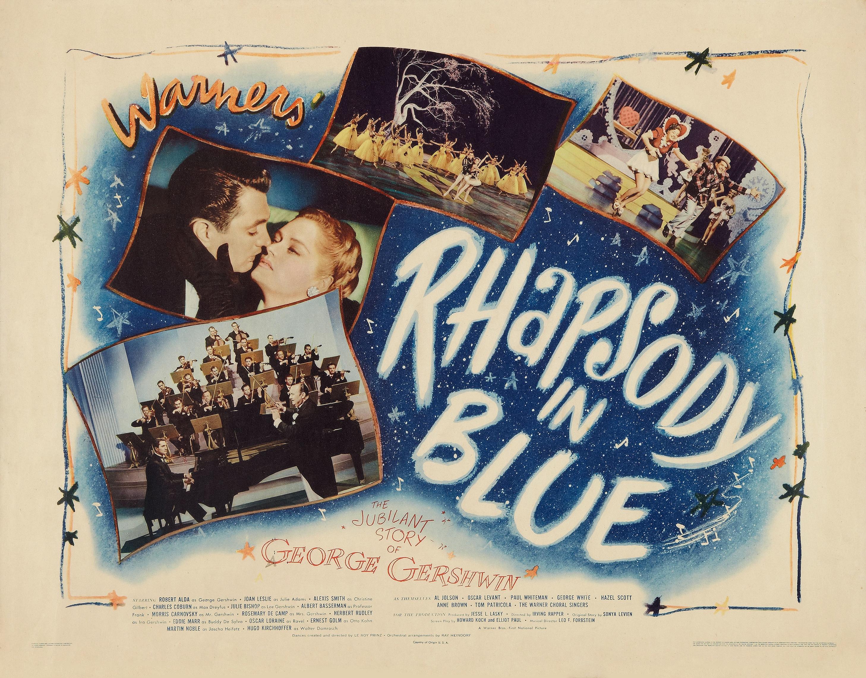 Rhapsody in Blue (1945) - Photo Gallery - IMDb