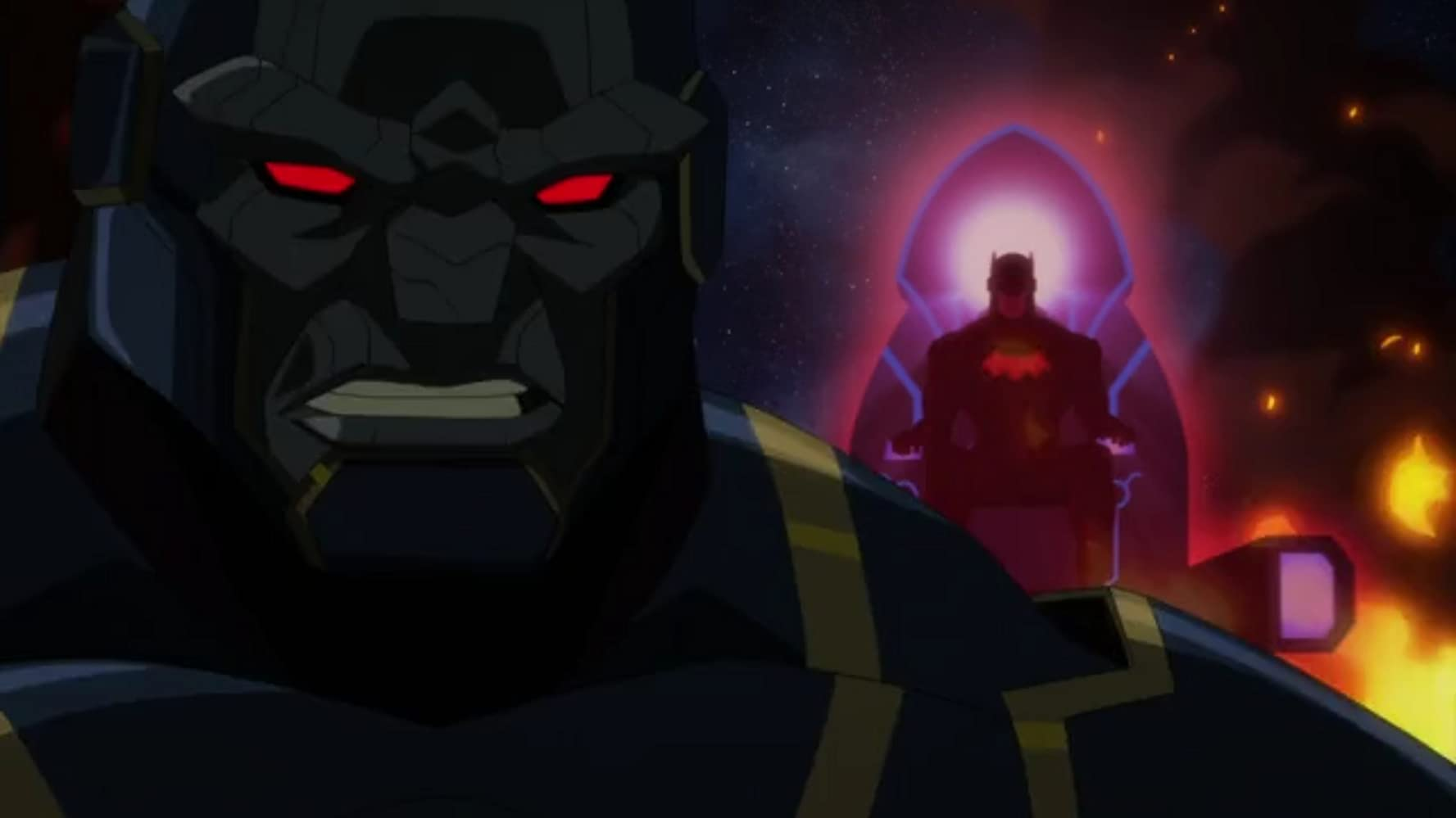 Jason O'Mara and Tony Todd in Justice League Dark: Apokolips War (2020)