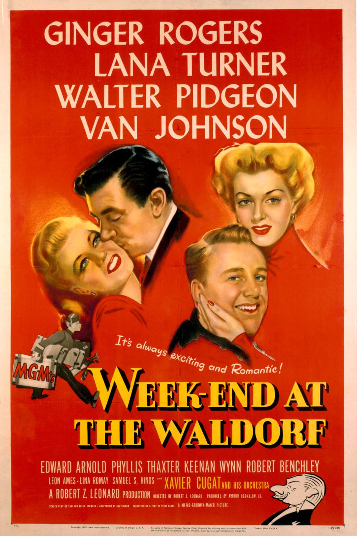 Week-End at the Waldorf (1945) - IMDb