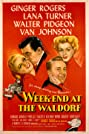Week-End at the Waldorf (1945) Poster
