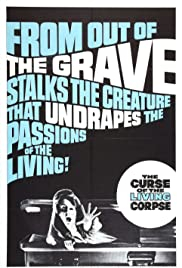 The Curse of the Living Corpse Poster