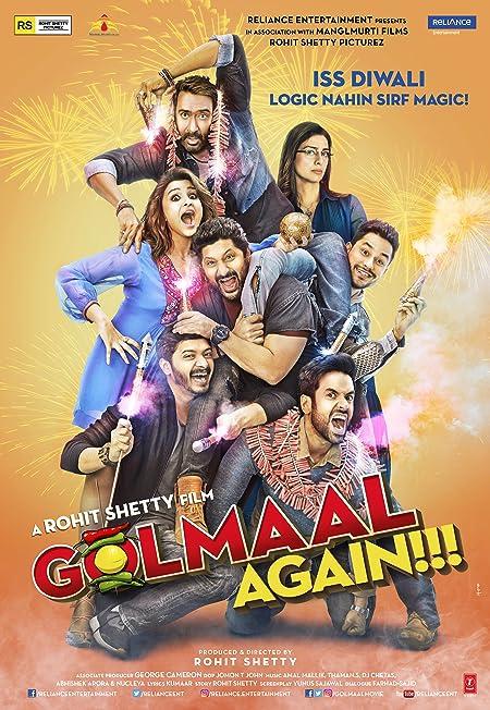 Golmaal Again (2017) Hindi Blu-Ray 720P x264 1GB
