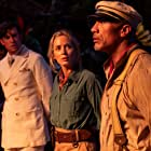 Dwayne Johnson, Emily Blunt, and Jack Whitehall in Jungle Cruise (2021)