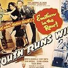 Vanessa Brown, Bonita Granville, Nita Hunter, Rod Rodgers, and Glen Vernon in Youth Runs Wild (1944)