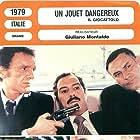 Franco Bizzoccoli, Marlène Jobert, Nino Manfredi, Vittorio Mezzogiorno, and Giuseppe Vicini in Il giocattolo (1979)