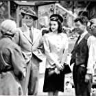 Joe E. Brown, Marguerite Chapman, Roger Clark, and William Wright in The Daring Young Man (1942)