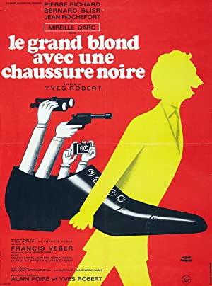 The Tall Blond Man with One Black Shoe Poster Image