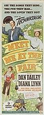 Meet Me at the Fair (1953) Poster