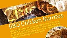 Burritos de Pollo a la Barbacoa