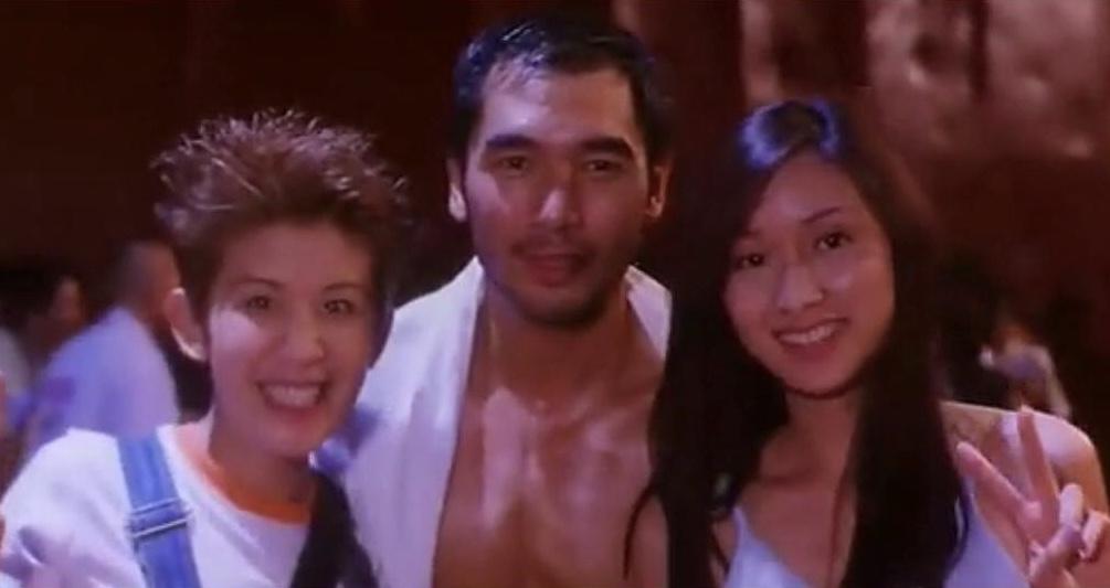 Alex Fong, Sandra Kwan Yue Ng, and Kristy Yeung in Goo wak chai: Hung Hing Sap Sam Mooi (1998)