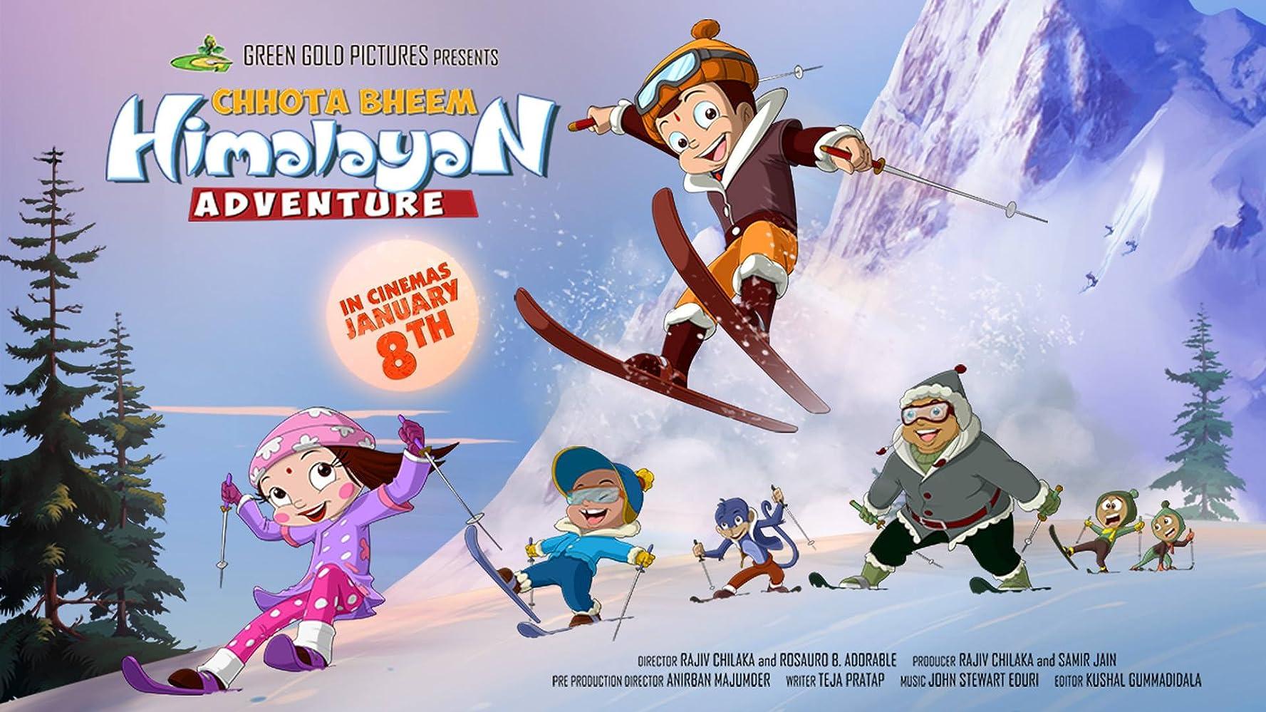 Chhota Bheem Himalayan Adventure 2016 Hindi Movie WebRip 300mb 480p 700mb 720p 2GB 1080p