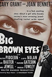 Big Brown Eyes Poster