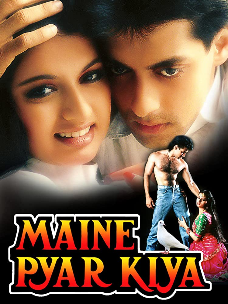 Maine Pyar Kiya 1989 Hindi Movie 620MB BluRay ESubs Download