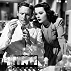 Spencer Tracy and Hedy Lamarr in Bombshell: The Hedy Lamarr Story (2017)