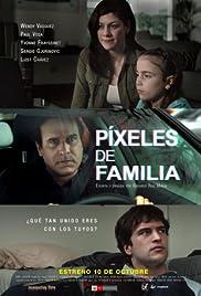 Píxeles de familia Poster