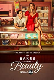 Victor Rasuk and Nathalie Kelley in The Baker and the Beauty (2020)