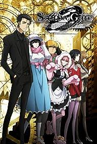 Tomokazu Seki, Mamoru Miyano, Haruko Momoi, Yû Kobayashi, Saori Gotô, and Kana Hanazawa in Steins;Gate 0 (2018)
