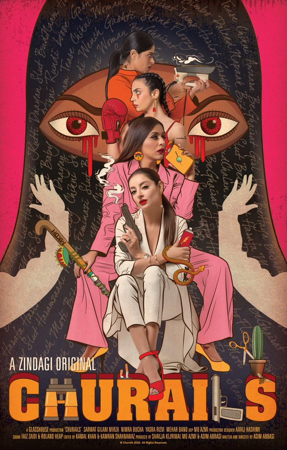 Churails 2020 Hindi S01 Complete ZEE5 Web Series 480p HDRip 1.8GB Download