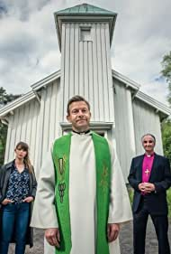 Marika Enstad, Per Gørvell, Tone Beate Mostraum, Christian Skolmen, and Bjarte Tjøstheim in Presten (2017)