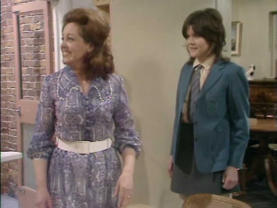 Diana Coupland and Sally Geeson in Bless This House (1971)